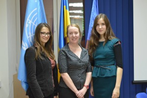 Meeting with a British youth policy expert organized by UNDP in Ukraine